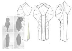 Fashion Sketchbook - fashion design development; dress drawings; line up; fashion portfolio // Niall David James
