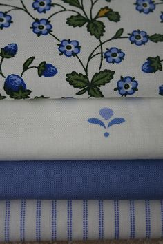 Vintage Laura Ashley Blues by janeych, via Flickr
