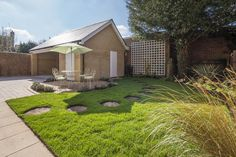 The rear garden has a fantastic lawn and patio area, perfect for those warmer months. Long Melford, New Homes For Sale, Lawn, Patio, Garden, Outdoor Decor, Home Decor, Decoration Home, Terrace