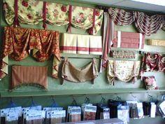 window treatments | Custom Window Treatments | Drapes | Curtains | Valances | Roman Shades
