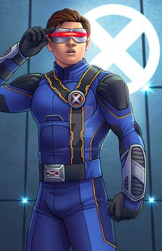Here is Tye Sheridan as Cyclops in his X-MEN uniform from X-MEN APOCALYPSE. I loved the movie and have already seen it twice. Third time soon. Cyclops - X-MEN Apocalypse Marvel Comics, Heros Comics, Marvel E Dc, Marvel Heroes, Marvel Characters, Marvel Universe, Jean Grey, Gi Joe, Apocalypse Costume