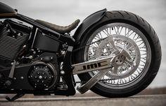 Custom Bobber, Custom Harleys, Custom Softail, Harley Bikes, Harley Davidson Motorcycles, Chopper, Harley Sport, Toy Garage, Custom Street Bikes