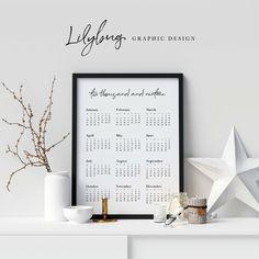 Printables to keep you organised Free Design, Digital Prints, Calendar, Printables, Graphic Design, Wall, Home Decor, Organisation, Fingerprints