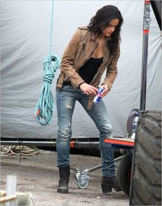 Michelle Rodriguez....Fast and Furious 6