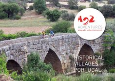 Historical villages  12th century villages with its castles. A journey back in time.