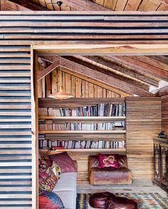 Interior chalet de montaña