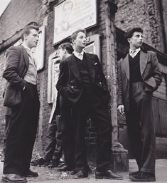 vintage everyday: 20 Vintage Photos of Dapper British Teddy Boys and Girls from the 1950s and 1960s