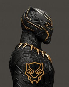 Black Panther Portrait - John Aslarona