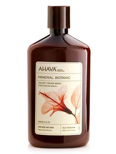 10 Luxurious Winter Skin Saviors: Mineral Botanic Velvet Body Lotions, $26, AHAVA.