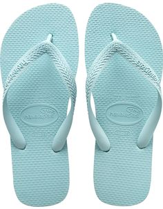 ef19a02b775b Havaianas Top Ice Blue Flip Flop We really love these Ice Blue Top  Havaianas flipflops. The have a huge size ranging from very small to larger  and the soles ...