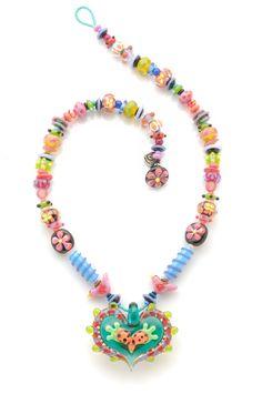 stephanie sersich — heart necklace