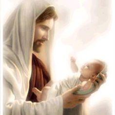 Jesus loves the little children. Jesus Face, My Jesus, Names Of Jesus, Bible Pictures, Jesus Pictures, Religious Pictures, Religious Art, Jesus Lives, Jesus Loves You