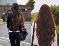 capelli lunghi voluminosi per una ragazza bella