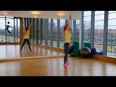 Ćwiczenia na smukłe uda i jędrne pośladki#1 - super skuteczny trening - YouTube