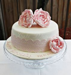 Birthday Cake Pink Birthday, Birthday Cakes, Birthday Ideas, Beautiful Cakes, Amazing Cakes, Cupcake Cookies, Cupcakes, Occasion Cakes, Cakes And More