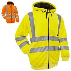 """Kapuzenshirt """"3346"""" High Vis - BLAKLÄDER® #Blåkläder #warnschutzshirt #warnschutzkaputzenshirt #warnschutz"""