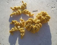 bullions Fall 2015, Brooch, Autumn, Crochet, Jewelry, Jewlery, Fall Season, Jewerly, Brooches