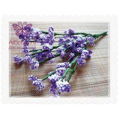 Декоративные веточки для скрапбукинга, цвет фиолетовый