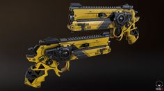 ArtStation - Gunslinger Pistol, David Payne