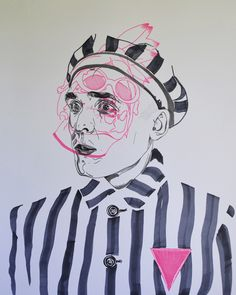 During WWII homosexual holocaust prisoners had to have a pink triangle on their chest to seclude them from the rest (who wore yellow stars). Normal Heart, Pink Triangle, Briar Rose, Scenic Design, Persecution, Chest Tattoo, Triangles, Ecology, Sketching