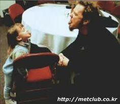 James Hetfield and his daughter :)