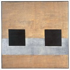 Agnes Martin. Got to see her exhibit at the Tacoma Art Museum today, what a wonderful show.