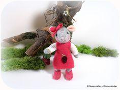 Susannelfes Blumenkinder für den Jahreszeitentisch: Jetzt geht es endlich wieder weiter!