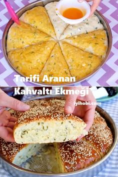 Food And Drink, Healthy Recipes, Bread, Cooking, Breakfast, Ethnic Recipes, Yummy Food, Turkish Cuisine, Food And Drinks