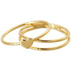 gorjana Carina Midi Ring ($35) ❤ liked on Polyvore