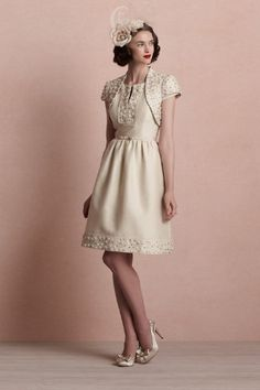 Whirlwind Dress - for an afternoon wedding. could totally make from my moms wedding dress.