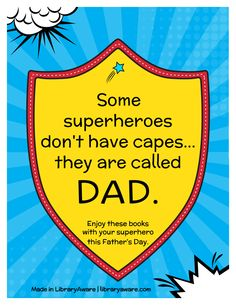 Planning a super hero book display for Father's Day? We've got you covered with ready-to-go book display flyers. Search flyers-books to see them all.
