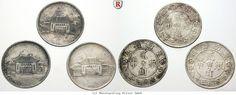 RITTER China, Yunnan, 3x 20 Cents 1949, L&M 432 #coins