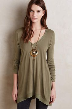 Lokka Tunic - would be a great weekend/travel day shirt