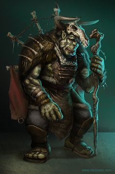 It is important one knows the difference between orcs, trolls, ogres, trogs, and goblins. High Fantasy, Fantasy Rpg, Medieval Fantasy, Fantasy Warrior, Fantasy Artwork, Fantasy Portraits, Dnd Characters, Fantasy Characters, Character Portraits