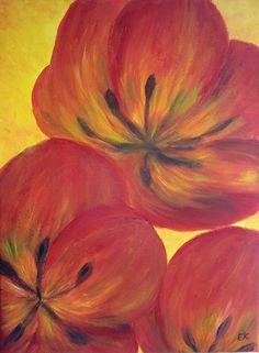 Galéria Kika: Red Tulips / Červené tulipány