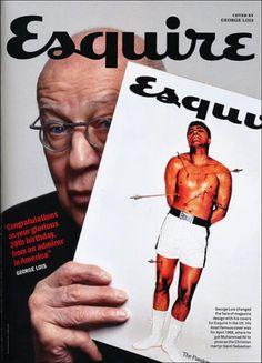 George Lois, creador de aquella inolvidable portada de Esquire