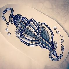 Image result for traditional seashell tattoo #TattooIdeasMeaningful