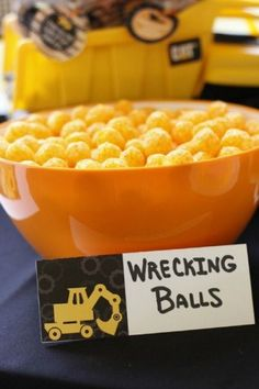 23 Construction Themed Birthday Party Ideas for Toddlers - Diy Craft Ideas & Gardening
