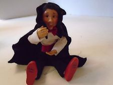 Byers Choice Kindle Halloween Dracula Child Boy Standing Sitting Flexible