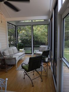 The Black Frame Eze Breeze Windows Are Stunning And Modern Open In Raleigh