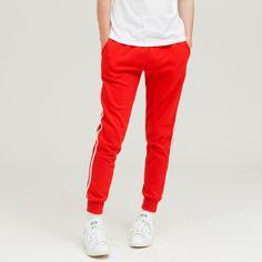 사이드 화이트라인이 포인트인 조거팬츠  ezy studio 이지스튜디오 [ezy studio] side line jogger tranning pants red