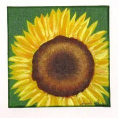 Tableau floral : le tournesol