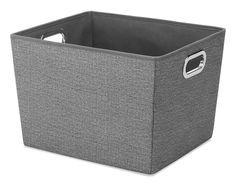 13 x 15 x 10 inches Amazon.com - Whitmor Crosshatch Tote, Medium, Grey -