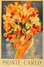 Image result for vintage retro flower posters