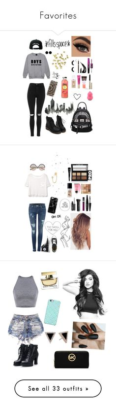 """Favorites"" by ailis-colon ❤ liked on Polyvore featuring Topshop, Trukfit, Casetify, Maybelline, AeraVida, Mudd, NYX, River Island, By Terry and Forever 21"