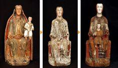 La Vierge de Valberzoso obtient toute la splendeur romane après restauration - Noticias - Hemeroteca - Año 2008 - ateliers de Santa María la Real de Aguilar Fondation Campo (Palencia)