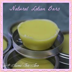 Adorned From Above: Natural Lotion Bars