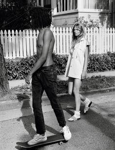 JUST KIDS PHOTOGRAPHER: ALASDAIR McLELLAN MODEL: ANNA EWERS STYLING: ALEKSANDRA WORONIECKA HAIR: SHON MAKE-UP: JEANINE LOBELL NAILS: CHRISTINA AVILES