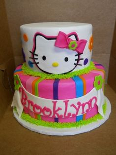 Hello Kitty By batterupcakery on CakeCentral.com