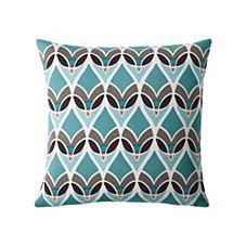 Montauk Outdoor Pillow - Turquoise